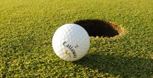 Golf na zámku